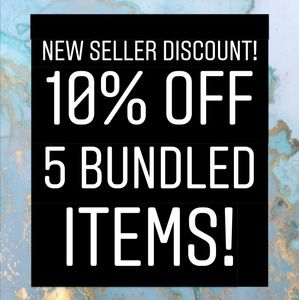 NEW SELLER DISCOUNT!